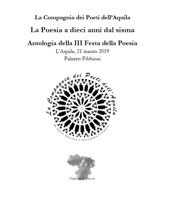 La Poesia a dieci anni dal sisma della Compagnia dei Poeti dell'Aquila